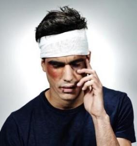koponyasérülés sebesülés