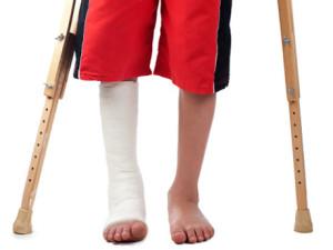 csonttörés láb